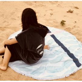 Serviette de plage ronde - Palm