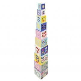 Pyramide de cubes - Petit Monkey
