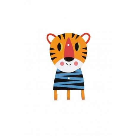 Porte manteau tigre - Kitsch Kitchen