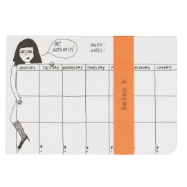 Weekly planner / semainier pin up - Helen b