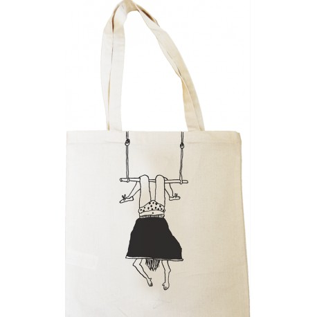 Tote Bag Trapeze Girl - Helen b