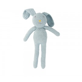 Lapin en crochet - Gris/Bleu - Global Affairs