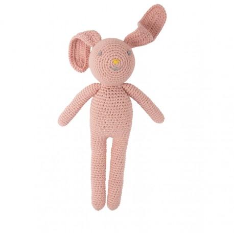 Lapin en crochet - Rose - Global Affairs