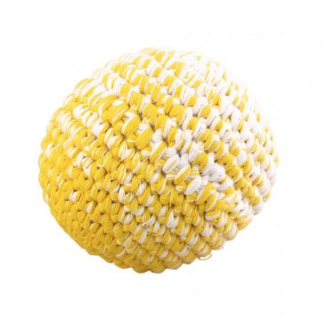 Balle 12 cm en crochet avec grelots - Global Affairs