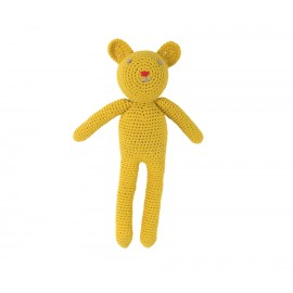 Ourson en crochet - jaune - Global Affairs