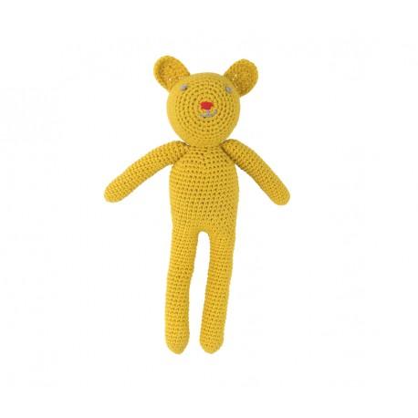 Ourson en crochet - jaune - Global Affairs