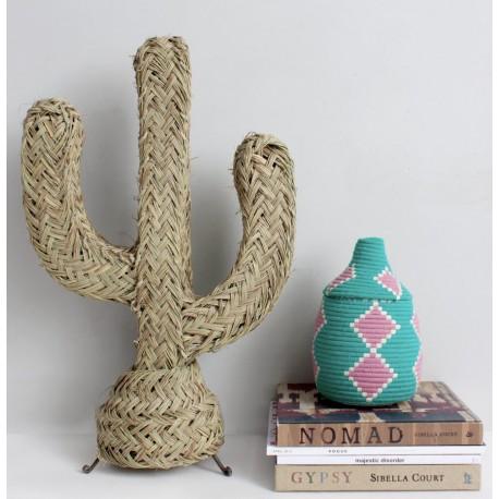 Cactus d'Arizona en paille - Bohemia
