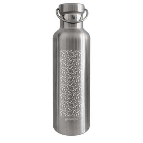 Gourde Isotherme 750 ml tout inox - Feuillage