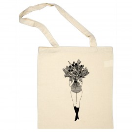 "Totebag ""Flower girl"" - Helen b"