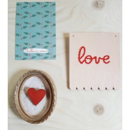 Mon Kit Broderie - Love | Cite candide