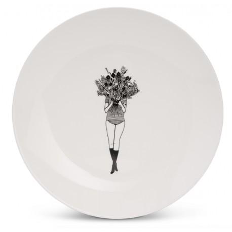 Assiette à dessert Flower Girl - Helen b