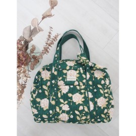 Sac weekend - Samali Eucalyptus | Bindi Atelier