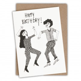 Carte Dancing - Happy Birthday | Helen b