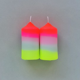 Bougies Neon Lollipop | Pink Stories