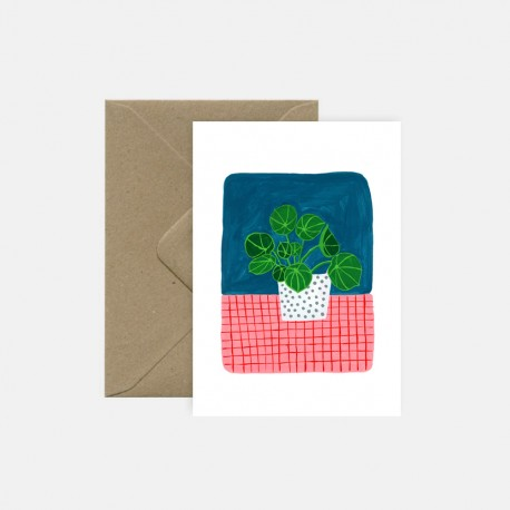 Carte Pilea | Pink Cloud Studio
