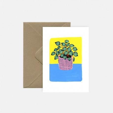 Carte Peperomia | Pink Cloud Studio