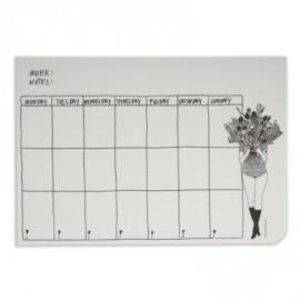 Weekly planner Flower Girl - Helen b