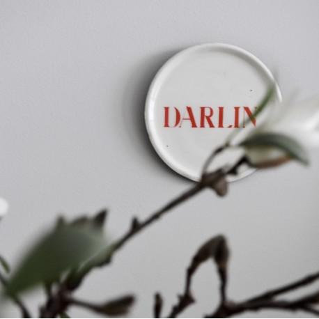 Petite soucoupe émaillée Darlin'