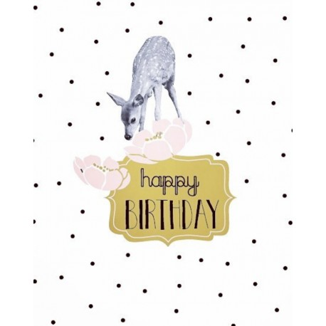 Carte Happy Birthday