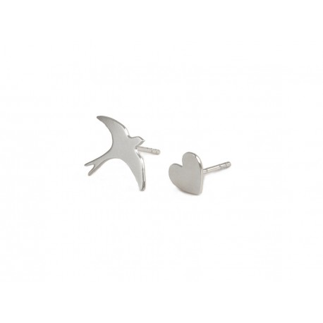 Puces d'oreille Duo Love-Bird
