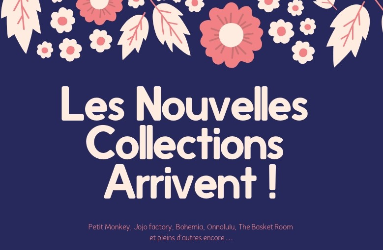 Nouvelle collection - Boutique Le Pompon